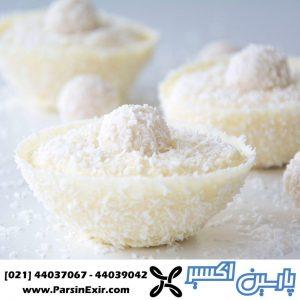 پودر نارگیل مواد اولیه صنایع غذایی