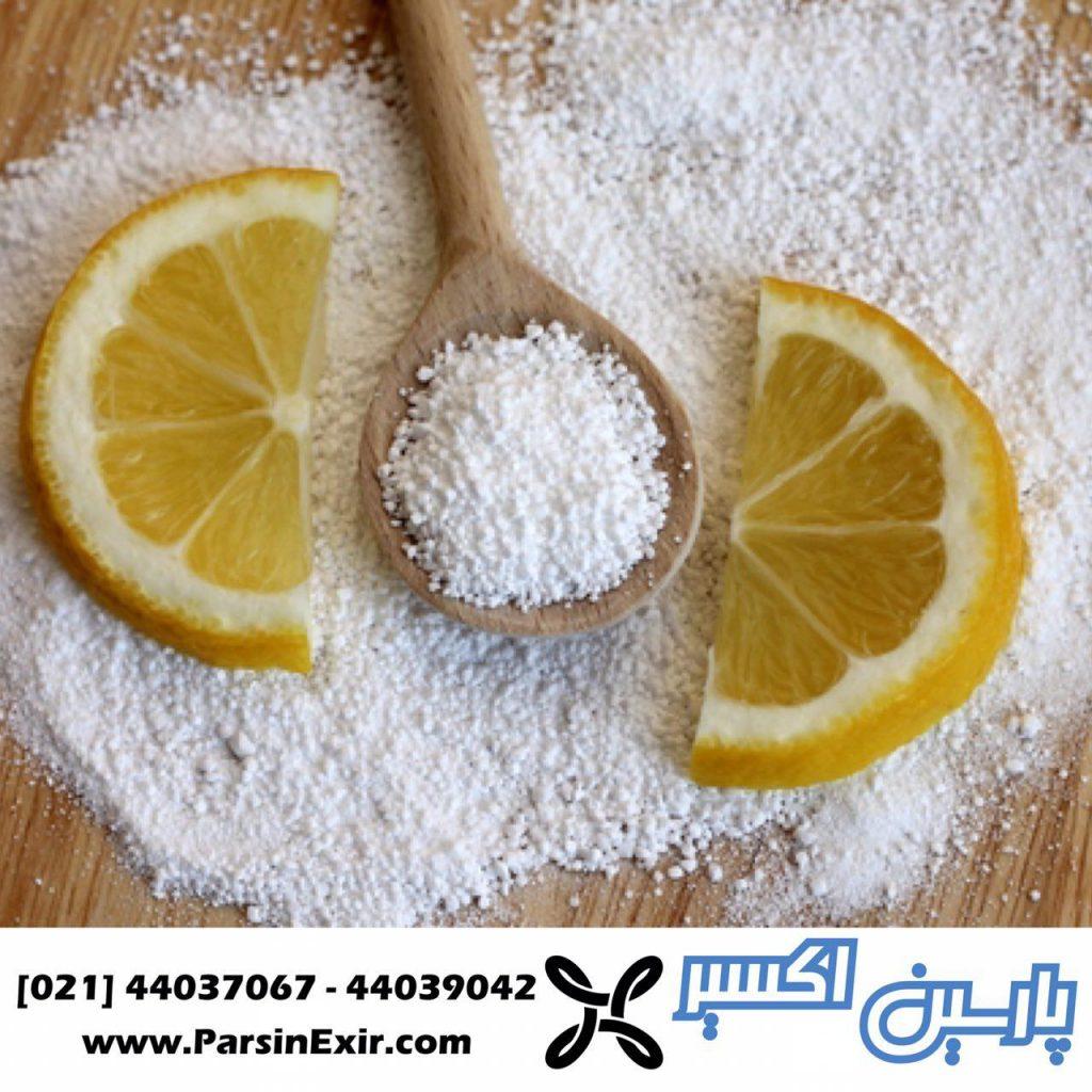 اسید سیتریک مواد اولیه صنایع غذایی